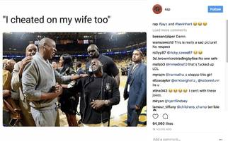 "The Internet Now Trolls JAY-Z W/ Savage Kevin Hart Memes: ""I Cheated On My Wife Too"""