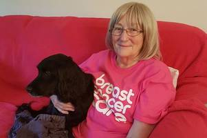 Brave East Kilbride mum beats breast cancer and raises £800 for charity