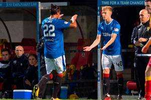 rangers face anxious wait over crocked defensive duo bruno alves and declan john ahead of celtic clash