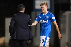 ross mccrorie says rangers debut was 'dream come true' as he laps up pedro caixinha praise