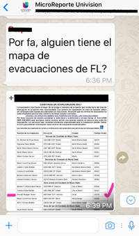 Univision is trying out WhatsApp to distribute news and information during hurricane emergencies