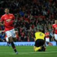 Marcus Rashford at the double as Manchester United defeat Burton