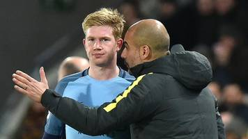 Manchester City: Pep Guardiola turns Kevin de Bruyne into a star
