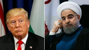 trump and rouhani trade insults in un podium duel
