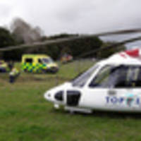 Mid-North woman, 69, in critical condition after arm caught in tractor
