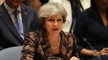 brexit: theresa may 'to offer 20bn euros transitional deal'