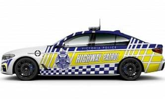 2017 bmw 530d police cars? yes, in victoria, australia