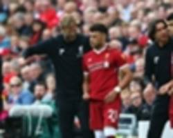 klopp backs oxlade-chamberlain and liverpool to bounce back
