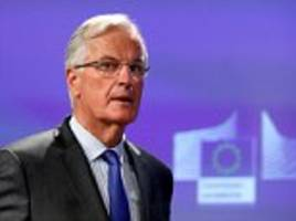 brexit trade deal will take 'years' to agree, says barnier