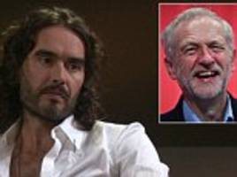 russell brand claims he was responsible for corbyn surge