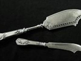two long-lost faberge silver knives resurface in poland