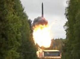 russia successfully test-fires second icbm in 10 days