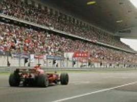 China and Bahrain may swap places on Formula One calendar
