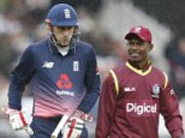 England and West Indies ODI abandoned after heavy rain