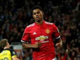 marcus rashford excels in centre-forward role once again