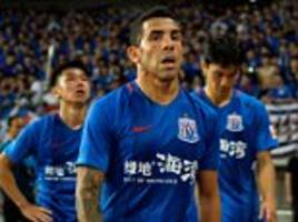 tevez takes aim at the current level of chinese football