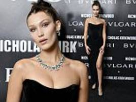 Bella Hadid dazzles at Bvlgari bash at Milan Fashion Week