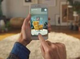 ikea's ar smartphone app users virtually test furniture