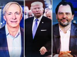 the bottom line: the 'trump trade' is back and ray dalio breaks down the bitcoin bubble
