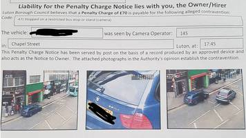 luton airport valet parking firm apologises for £70 fine