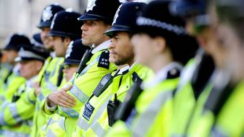 race crime against london police officers rises 56%