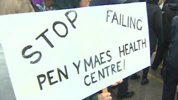 Wrexham patients protest about GP staffing levels