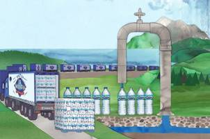 a look at how nestle makes billions selling you groundwater in a bottle