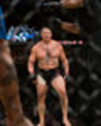 brock lesnar was planning ufc return before jon jones' failed drug test - bill goldberg