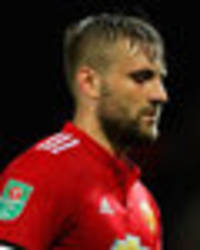 man utd star luke shaw slammed for performance against burton by phil neville
