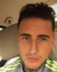 Jeremy McConnell shares first community service pic after Stephanie Davis assault