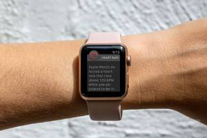 Apple Watch's new heart rate features won't work on the original Watch model