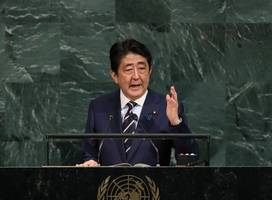 Japanese PM Shinzo Abe says time for North Korea dialogue is over