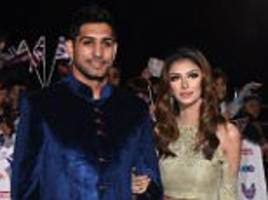 faryal makhdoom announces she is back with amir khan