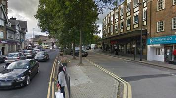 stanmore robbery: man sprayed with corrosive liquid