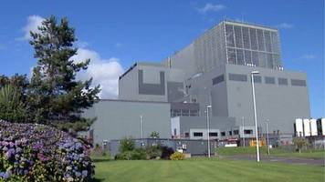 crews tackle fire near hunterston nuclear power station