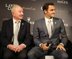 laver cup 2017: roger federer keeps his powder dry, as borg opens with cilic, thiem, zverev, berdych and nadal