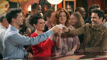 clear your schedule: 'will & grace' is now on hulu
