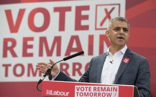 sadiq urges government to replace the eu funds under threat from brexit