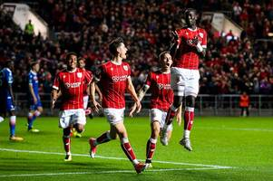 bristol city beating premier league clubs shows our progression says lee johnson