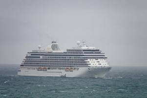 bad weather causes cruise ship seven seas explorer to abandon dartmouth visit