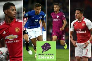 fantasy premier league: sergio aguero rested in league cup, jesus plays 90 minutes, rashford brace and luke shaw return for manchester united