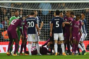 west brom digest: manchester city defeat fall-out; player ratings; pulis' verdict; pep on albion