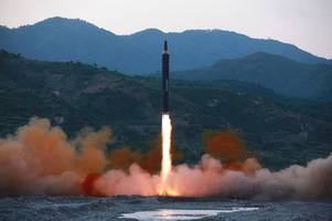 Boris Johnson warns of 'catastrophe' if North Korea realises nuclear weapons ambition