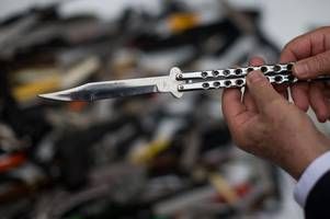 revolvers, ammunition and almost 200 knives dumped during weapons amnesty