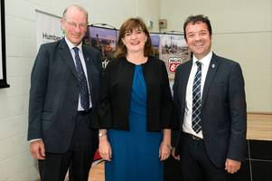 former education secretary in scunthorpe for event aiming to get more women and girls into engineering