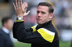 notts county boss kevin nolan will have learned from ex-england boss sam allardyce says danny cowley