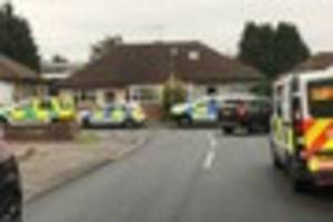 first pictures of the incident at ingatestone station where a...