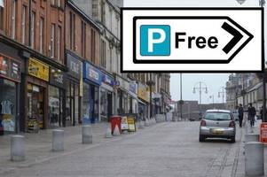 Free parking plan for main artery through Hamilton town centre
