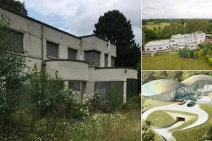 'gangs, drug addicts and rats': how £45m lottery winners' mansion has 'descended into shocking state of disrepair'