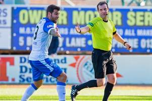St Johnstone defender Richard Foster faces SFA rap amid reports he kicked referee's door after Dundee defeat